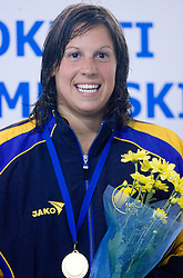 Anja Carman at International Swimming competition of Kranj, on June 14, 2009, in Olympic pool, Kranj, Slovenia. (Photo by Vid Ponikvar / Sportida)