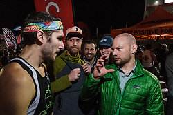 Beer Mile World Championships, Inaugural, Evan Groendyk, after winning Open heat 2
