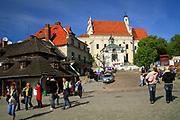 Kazimierz Dolny, 2007-05-02. Kościół farny św. Jana Chrzciciela i św. Bartłomieja w Kazimierzu Dolnym