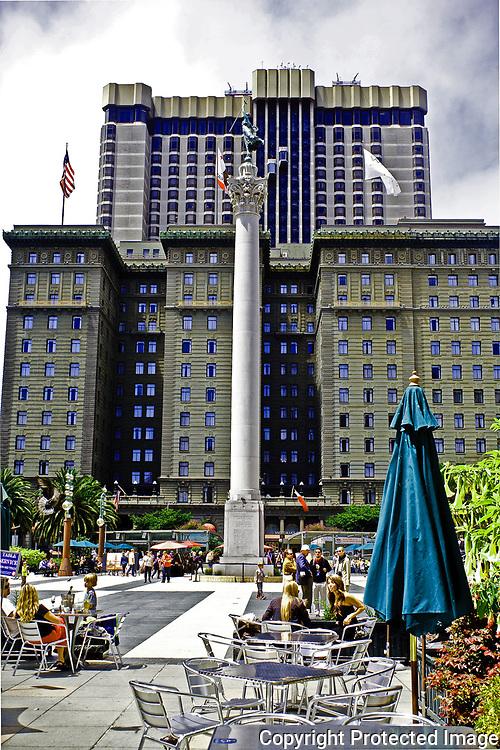 Union Square downtown San Francisco