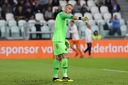 June 4, 2018 - Turin, Piedmont, Italy - Goalkeeper Jasper Cillessen (Holland) during the friendly football match between Italy and Holland at Allianz Stadium on June 04, 2018 in Turin, Italy. Final result: 1-1  (Credit Image: © Massimiliano Ferraro/NurPhoto via ZUMA Press)