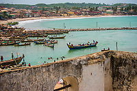 Canal from Elmina Castle