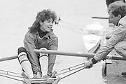 Nottingham. United Kingdom. <br /> GBR W1X, Beryl MITCHELL/CROCKFORD.<br /> Nottingham International Regatta, National Water Sport Centre, Holme Pierrepont. England<br /> <br /> 31.05.1986 to 01.06.1986<br /> <br /> [Mandatory Credit: Peter SPURRIER/Intersport images] 1986 Nottingham International Regatta, Nottingham. UK