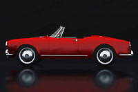 With the Alfa Romeo Guilletta Spyder, Alfa Romeo has created a beautiful convertible sports car for daily use; The Alf Romeo Guilletta Spyder was one of the most beloved models of this Italian carmaker.<br /> <br /> This painting of the Alfa Romeo Guilletta Spyder can be printed very large on different materials. The work has a panoramic proportion and is very suitable to add a detail in a workspace, showroom or just at home that will impress your visitors. – -<br /> BUY THIS PRINT AT<br /> <br /> FINE ART AMERICA<br /> ENGLISH<br /> https://janke.pixels.com/featured/alfa-romeo-giulietta-1300-spyder-1955-lateral-view-jan-keteleer.html<br /> <br /> WADM / OH MY PRINTS<br /> DUTCH / FRENCH / GERMAN<br /> https://www.werkaandemuur.nl/nl/shopwerk/Alfa-Romeo-Giulietta-1300-Spyder-1955-Zijaanzicht/736541/132?mediumId=11&size=75x50<br /> <br /> -