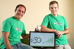 Os sócios Fabrício Milesi e Luiz Felipe Gheller (D) fundaram em 2009 o Vakinha, a primeira manifestação próxima ao que é o crowdfunding no Brasil. FOTO: Jefferson Bernardes/Preview.com
