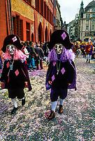 Basel Fasnacht (Carnival), Marktplatz (Market Square), Basel, Switzerland.