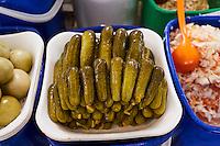 Ouzbekistan, Tashkent, bazar Tchorsou marché alimentaire // Uzbekistan, Tashkent, Chorsu bazar, food market