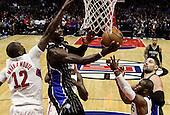 Basketball: 20170111 LA Clippers vs Orland Magic