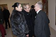 NEFER SUVIO,; NICK RHODES; ANTONY FAWCETT , Mandala for Crusoe, Exhibition of work by Francesco Clemente. Blain/Southern. Hanover Sq. London. 29 November 2012