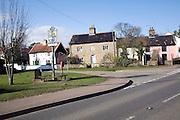 Cottages village of Snape, Suffolk
