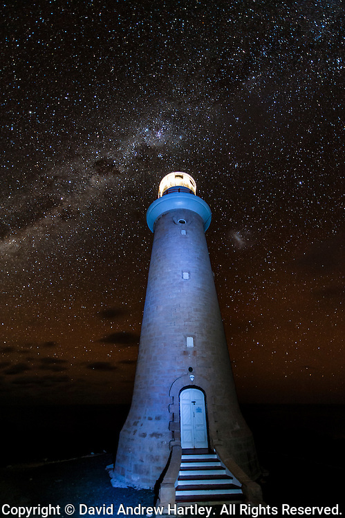 The Mily Way above Cape du Couedic Lighthouse, Kangaroo Island, South Australia