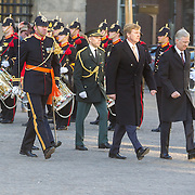 NLD/Amsterdam/20161128 - Belgisch Koningspaar start staatsbezoek aan Nederland, Koning Willem Alexander en Koning Filip