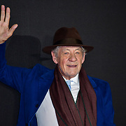 Sir Ian McKellan Arrivers at World Premiere of The Good Liar on 28 October 2019, at the BFI Southbank, London, UK.