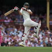 Mitchell Johnson batting during the Australia V Pakistan 2nd Cricket Test match at the Sydney Cricket Ground, Sydney, Australia, 5 January 2010. Photo Tim Clayton