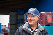 Dave Wright, General Manager of Pacific Seafood