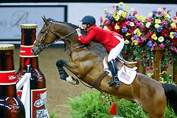 Kraut Laura, USA, Anthem<br /> World Cup Final Jumping - Las Vegas 2003<br /> © Hippo Foto - Dirk Caremans