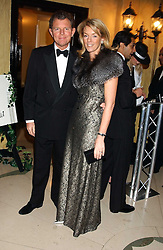 BERNARD & FIONA DREESMAN at A Riot - 1930's evening in aid of Great Ormand Street Hospital held at Claridge's, Brook Street, London on 31st January 2006.<br />