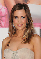 """WESTWOOD, CA - APRIL 28: Kristen Wiig arrives at the premiere of Universal Pictures' """"Bridesmaids"""" held at Mann Village Theatre on April 28, 2011 in Los Angeles, California."""