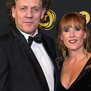 NLD/Amsterdam/20191009 - Uitreiking Gouden Televizier Ring Gala 2019, Kees van der Spek en partner Annabelle