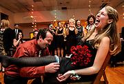 A wedding reception at The Latvian Society of Philadelphia in Philadelphia, Pennsylvania.