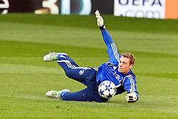 03-05-2011 VOETBAL: SEMI FINAL CL MANCHESTER UNITED - SCHALKE 04: MANCHESTER<br /> Training Schalke 04 on Old Trafford  Manchester, Manuel Neuer (Schalke #1)<br /> *** NETHERLANDS ONLY***<br /> ©2011-FH.nl- expa-nph/ Mueller