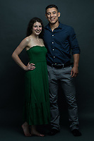 Samantha Romano and Anthony Romero pose for portraits in Hamilton, ON on Saturday, July 4, 2020. All images were taken while following social distancing protocols. Michael P. Hall/michaelphall.ca