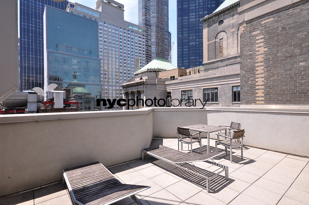 Roof Deck at 100 West 58th Street