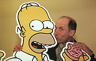 Dan Castellaneta who speaks the voice of Homer Simpson, pictured at the Assembly Rooms in Edinburgh, where the Simpsons-Mania show was taking place, celebrating 10 years   of the series on British television. Simpson-Mania will be staged in London on 17th and 18th August 2000.