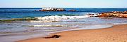Panoramic View of the Coast of Laguna Beach California