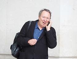 BBC, Broadcasting House, London, Great Britain <br /> 29th October 2017 <br /> <br /> <br />  Steve Richards arrives for Sunday Politics <br /> <br /> Photograph by Elliott Franks <br /> Image licensed to Elliott Franks Photography Services