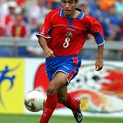 Costa Rica's Mauricio Solis