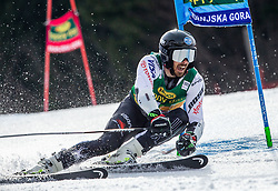 MCLAUGHLIN Brian of USA competes during the Audi FIS Alpine Ski World Cup Men's Giant Slalom 58th Vitranc Cup 2019 on March 9, 2019 in Podkoren, Kranjska Gora, Slovenia. Photo by Matic Ritonja / Sportida