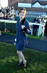 VANESSA NEUMANN at the 50th running of the Hennessy Gold Cup at Newbury Racecourse, Berkshire on 25th November 2006.<br /><br />NON EXCLUSIVE - WORLD RIGHTS