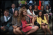 MEMBERS OF THE TRINITY COLLEGE DUBLIN HORSE RACING SOCIETY, Qatar Prix de L'Arc de Triomph. Longchamp. Paris. 5 October 2014.