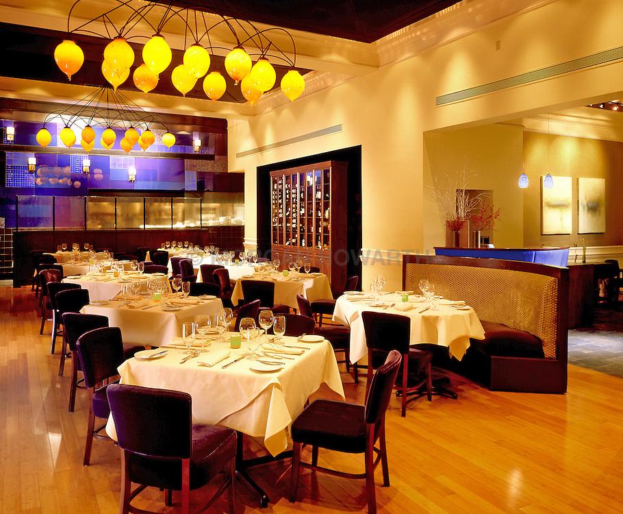 Azure restaurant at the Lenox Hotel in Boston Massachusetts
