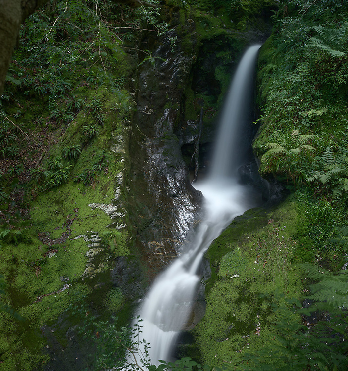 Though not strictly a waterfall, it does make a lot of noise and makes a wonderful spectacle, particularly after a period of rain.