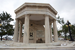 Monument to Eight Medical Student Who Were Executed During A Coup in 1871