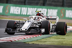 October 5, 2018 - Suzuka, Japan - 16 LECLERC Charles (mco), Alfa Romeo Sauber F1 Team C37, action during the 2018 Formula One World Championship, Japan Grand Prix from October 4 to 7 at Suzuka -  / , #16 Charles Leclerc (MON Alfa Romeo Sauber F1 Team) ,  , Motorsports: FIA Formula One World Championship 2018, Grand Prix of Japan, .World Championship 2018 Grand Prix Japan  (Credit Image: © Hoch Zwei via ZUMA Wire)