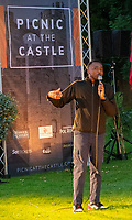 Michael Odewale live at the picnic at the castle,Warwick Castle photo by Brian Jordan