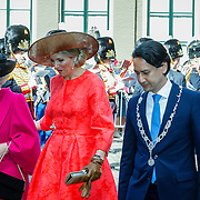 NLD//Middelburg20160421 - Four Freedoms Awards 2016, Konining Maxima en Prinses Beatrix