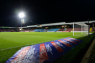 General view inside of The Sands Venue Stadium during the EFL Sky Bet League 2 match between Scunthorpe United and Bolton Wanderers at the Sands Venue Stadium, Scunthorpe, England on 24 November 2020.