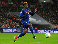Football - 2018 / 2019 EFL Carabao Cup (League Cup) - Semi-Final: Tottenham Hotspur vs. Chelsea<br /> <br /> Callum Hudson - Odoi of Chelsea, at Wembley Stadium.<br /> <br /> COLORSPORT/ANDREW COWIE