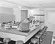 """Ackroyd 01336-2. """"Sue's Inn. 2013 NW 23rd Ave. Interiors & exteriors. March 15, 1949"""""""