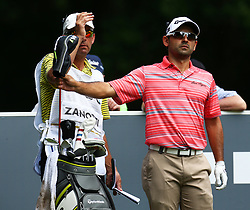 May 25, 2017 - Virginia Water, United Kingdom - Fabrizio Zanotti  PAR during 1st Round for the 2017 BMW PGA Championship on the west Course at Wentworth on May 25, 2017 in Virginia Water,England  (Credit Image: © Kieran Galvin/NurPhoto via ZUMA Press)