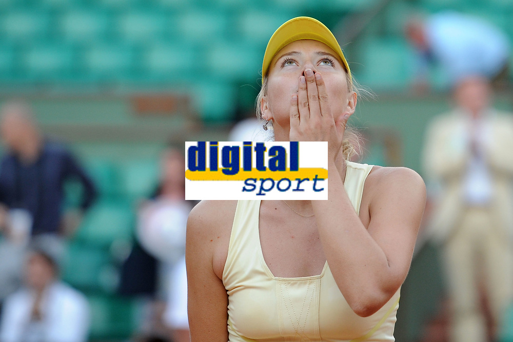 TENNIS - GRAND CHELEM - ROLAND GARROS 2011 - PARIS (FRA) - DAY 9 - 30/05/2011 - PHOTO : VIRGINIE BOUYER / TENNIS MAG / DPPI - MARIA SHARAPOVA (RUS)