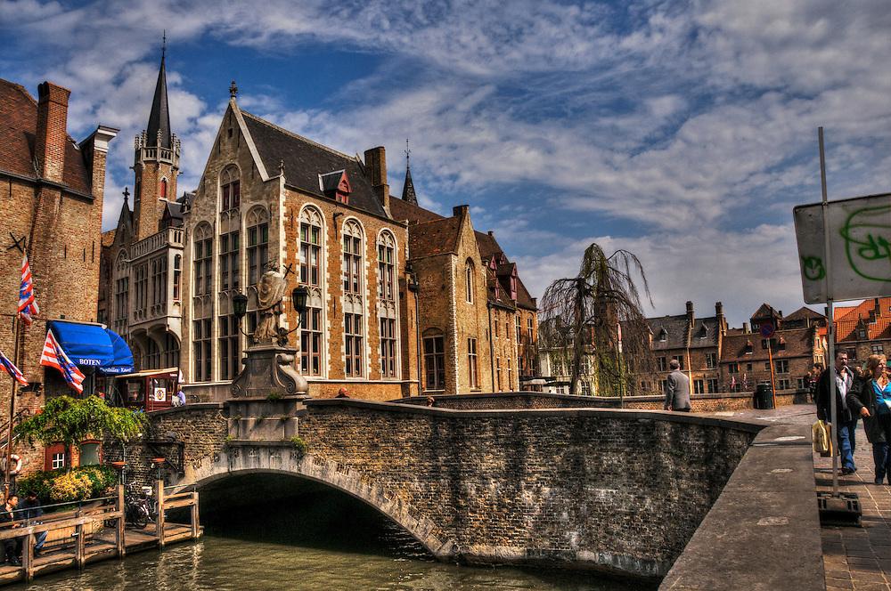 Belgium Bruges old town