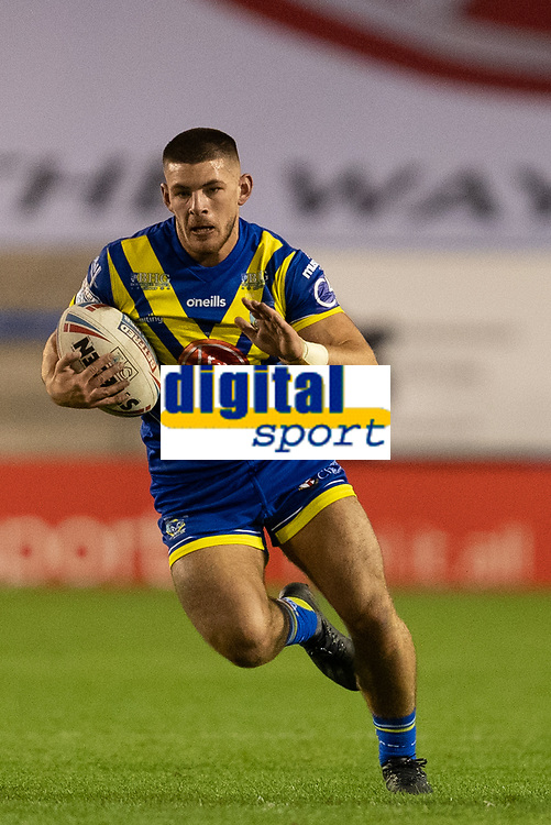 Rugby League - 2020 Super League - Round 13 - Warrington Wolves vs Catalan Dragon<br /> <br /> Warrington Wolves's Danny Walker in action during todays match,   at the Halliwell Jones Stadium, Warrington<br /> <br /> <br /> COLORSPORT/TERRY DONNELLY