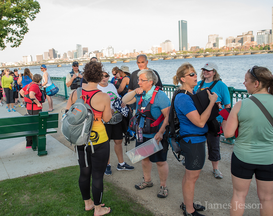 Wellness Warriors is a group of cancer survivors that use a dragonboat and paddle the Charles River in Cambridge, MA.