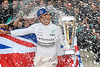 HAMILTON lewis (gbr) mercedes gp mgp w06 ambiance portrait - celebrate world champion title - célébration titre champion du monde F1 2015 during the 2015 Formula One World Championship, United States of America Grand Prix from october 22nd to 25nd 2015 in Austin, Texas, USA. Photo Eric Vargiolu / DPPI