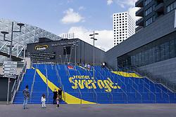 June 6, 2017 - Stockholm, SVERIGE - 170606 Trappan upp till Friends Arena efter en träning med Sveriges fotbollslandslag den 6 juni 2017 i Stockholm. (Credit Image: © Andreas L Eriksson/Bildbyran via ZUMA Wire)
